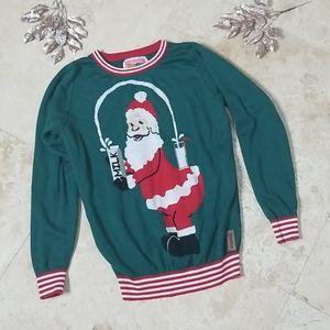 Tipsy elves ugly Christmas sweater medium